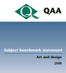 Subject Benchmark Statements for Art and Design