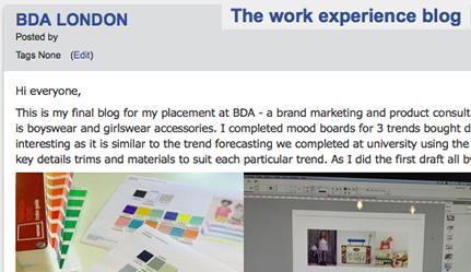 myUCA_Work_Experience_blog