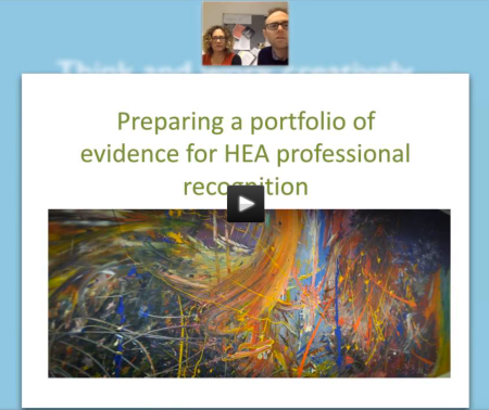Webinar recording: What is HEA Fellowship?